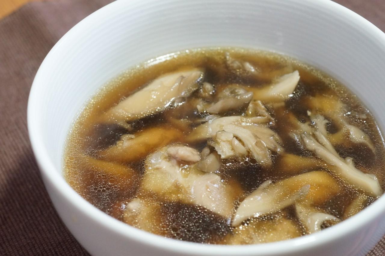 茸 スープ 舞